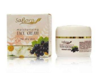 Увлажняющий крем для лица с Гиалуроновой кислотой (Saflora) 50 мл