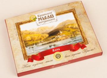 """Подарочный набор натурального мыла """"Картины Боссоли"""""""