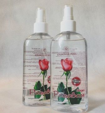 Розовая вода крымская 200 мл спрей